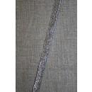 Paspoil-/piping bånd i sølv