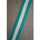 Sportsbånd stribet irgrøn-hvid