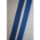 20 mm. velcro denim blå