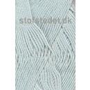 Blend -Tendens Bomuld/acryl garn lys grå-blå