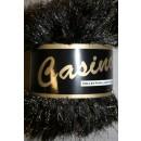 Casino - Pelsgarn m/lurex, sort/guld