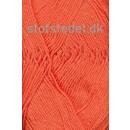 Cotton 8 Hjertegarn i Varm orange