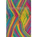 Cotton nr. 8 Print, turkis/gul/rød