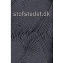 Cotton 8 Hjertegarn i Koksgrå