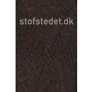 Deco acryl/uld i Mørke brun   Hjertegarn
