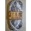 Jeans meleret bomuldsgarn, koksgrå