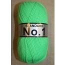 Acrylgarn No 1, neon grøn