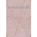 Organic Cotton/Økologisk bomuldsgarn i Pudder-rosa