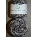 Organic 350 Wool/Cotton Gots certificeret meleret brun