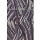 Ragg strømpegarn i koksgrå, grå og lysegrå