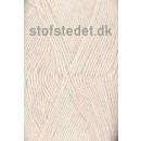 Sock 4 strømpegarn i Hvid | Hjertegarn