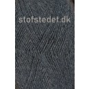 Sock 4 strømpegarn i Mørkegrå | Hjertegarn