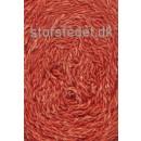 Wool Silk Gots certificeret i orange-rød   Hjertegarn