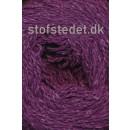 Wool Silk Gots certificeret i mørkelilla | Hjertegarn