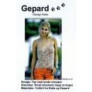 Gepard mønster Top m/tynde stropper