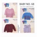 Hæfte baby no. 68 i Lana og Blend Bamboo