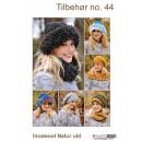 Tilbehør no. 44 Huer/tørklæde