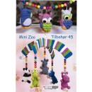Tilbehør no. 45 Mini zoo/ Hæklede dyr