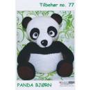 Tilbehør no. 77 Panda bjørn