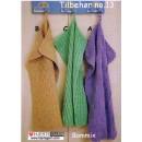 Tilbehør no. 13 strikket håndklæde