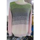 Bluse strikket i Rainbow Cotton