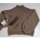 Sunday sweater strikket i Light mohair og Silk kid mohair