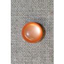 Rund knap, 13 mm. orange