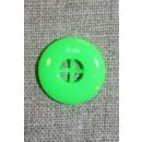 Neon knap grøn, 20 mm.