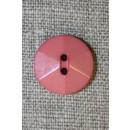 2-huls knap 6-delt, pudder-rosa
