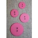 Pink 2-huls knap i 4 str.