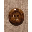 Camel/brun meleret knap