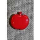Knap m/rødt æble