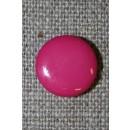 Rund knap 13 mm. pink