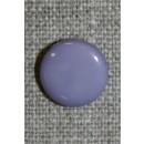 Rund knap 13 mm. lyselilla