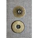 Magnet knap oxyderet 18 mm.