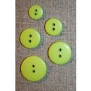 Lime 2-huls knap i 5 str.
