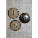 Kokosknap 25 mm. granit-look