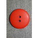 2-huls knap orange, 23 mm.