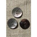 Perlemors-knap grå 15 mm.