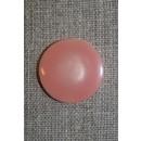 Rosa knap, 23 mm.
