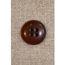 Brun/orange 4-huls, 15 mm.