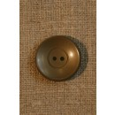 Grå-brun knap 22 mm