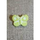 Sommerfugl-knap, lime
