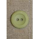 Mintgrøn 2-huls knap