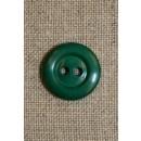 Grøn 2-huls knap