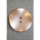 Skæv knap, pudder, 35 mm.