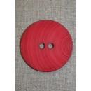 Stor knap 54 mm. rød