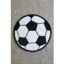 Fodbold sort/hvid, mellem