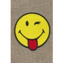 Motiv Smiley blinker/rækker tunge