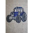 Motiv traktor blå